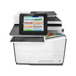 HP PageWide Enterprise 586z Page Wide Array Multifunction Printer - Colour - Plain Paper Print - Desktop