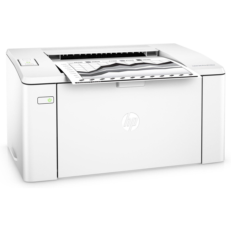 HP LaserJet Pro M102w Laser Printer - Monochrome - 600 x 600 dpi Print - Plain Paper Print - Desktop