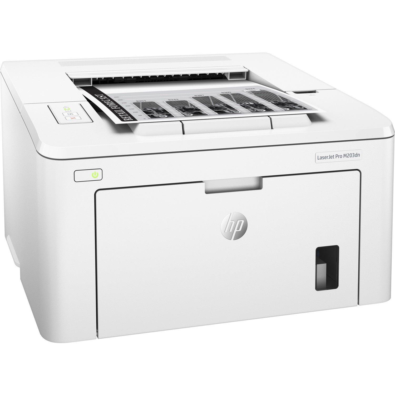 HP LaserJet Pro M203dn Laser Printer - Monochrome - 1200 x 1200 dpi Print - Plain Paper Print - Desktop