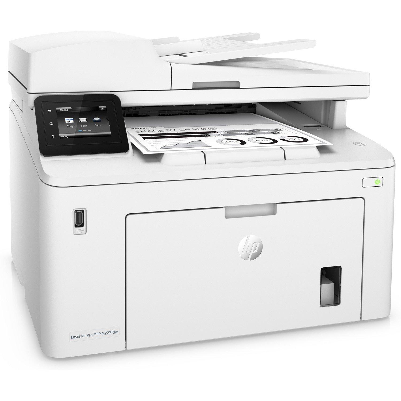 HP LaserJet Pro M227fdw Laser Multifunction Printer - Monochrome