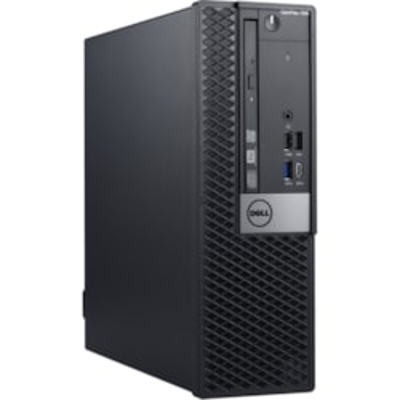 Dell OptiPlex 7000 7060 Desktop Computer - Intel Core i5 (8th Gen) i5-8500 - 8 GB DDR4 SDRAM - 128 GB SSD - Windows 10 Pro 64-bit (English) - Small Form Factor