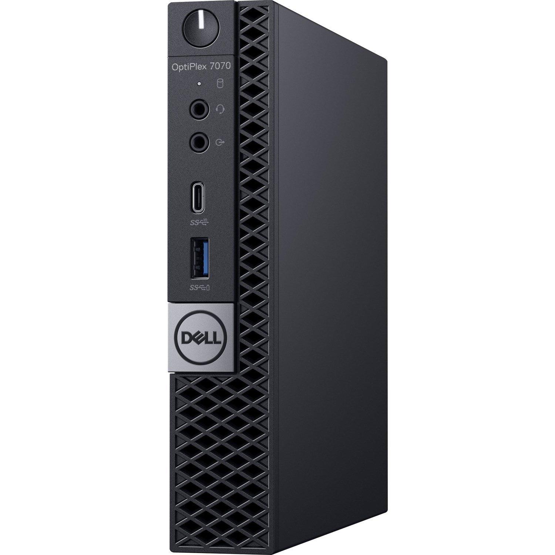 Dell OptiPlex 7000 7070 Desktop Computer - Intel Core i5 9th Gen i5-9500T 2.20 GHz - 8 GB RAM DDR4 SDRAM - 1 TB HDD - Micro PC