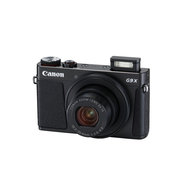 Canon PowerShot G9 X Mark II 20.1 Megapixel Compact Camera - Black
