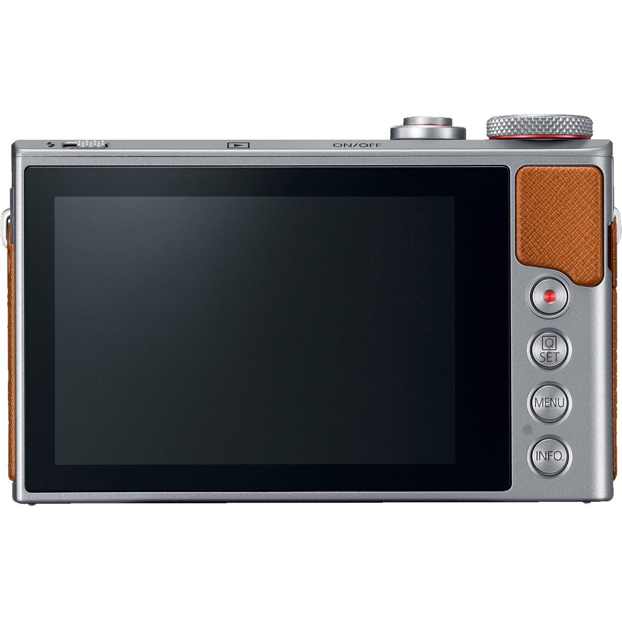 Canon PowerShot G9 X Mark II 20.1 Megapixel Compact Camera - Silver