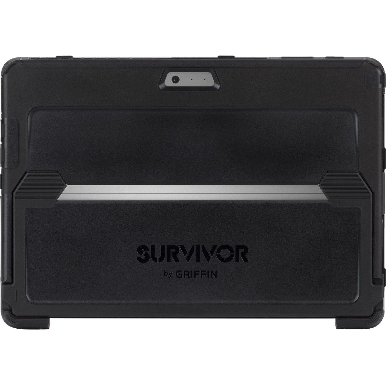Griffin Survivor Slim Case for Tablet - Black