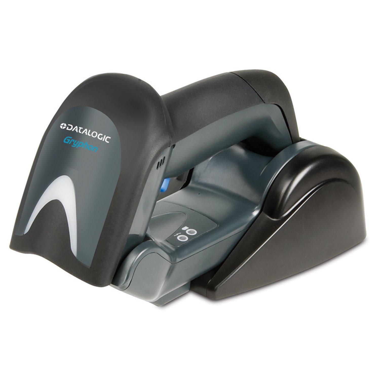 Datalogic Gryphon GBT4130 Handheld Barcode Scanner Kit - Wireless Connectivity - Black