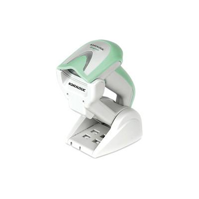 Datalogic Gryphon GBT4400 Handheld Barcode Scanner Kit - Wireless Connectivity - White