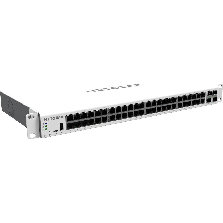 Netgear GC752X 48 Ports Manageable Ethernet Switch