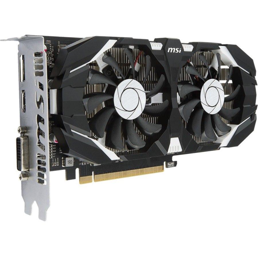 MSI GEFORCE GTX 1050 TI 4GT OCV1 GeForce GTX 1050 Ti Graphic Card - 4 GB GDDR5