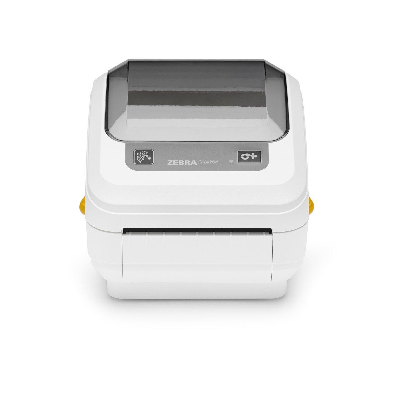 Zebra GK420d Direct Thermal Printer - Monochrome - Desktop - Label Print - USB