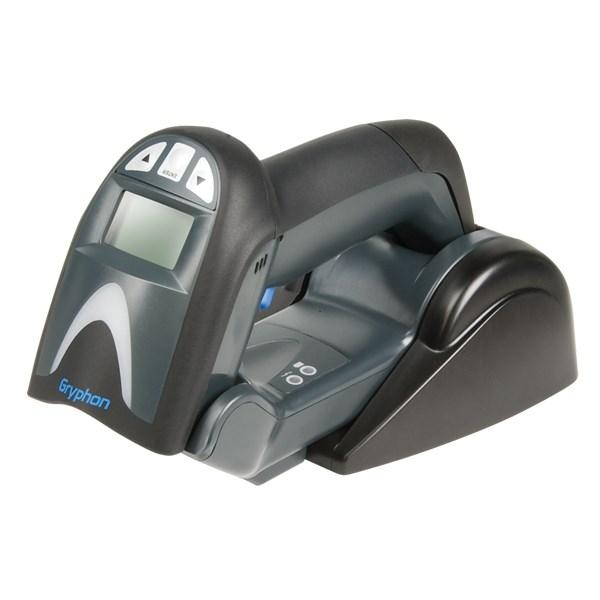 Datalogic Gryphon GM4132 Handheld Barcode Scanner Kit - Wireless Connectivity - Black