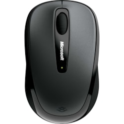 Microsoft 3500 Mouse - Radio Frequency - USB - BlueTrack - 3 Button(s) - Lochness Gray