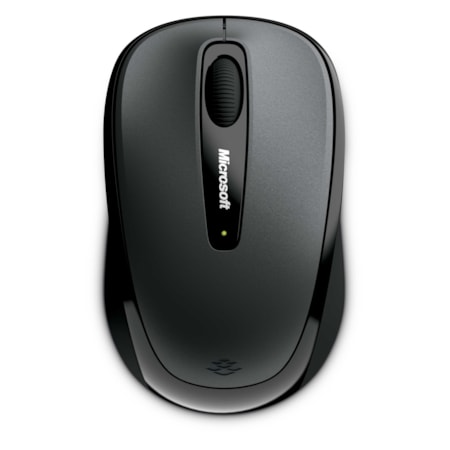 Microsoft Wireless Mobile 3500 Mouse - Radio Frequency - USB - BlueTrack - Lochness Gray