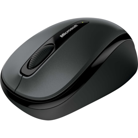 Microsoft 3500 Mouse - Radio Frequency - USB - BlueTrack - 3 Button(s) - Black