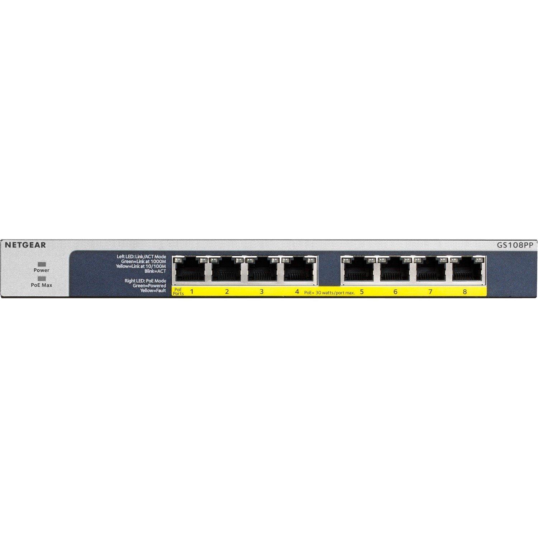Netgear GS108PP 8 Ports Ethernet Switch