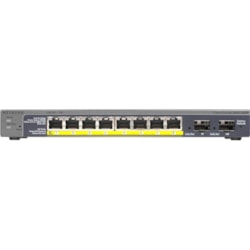 Netgear ProSafe GS110TP 8 Ports Manageable Ethernet Switch