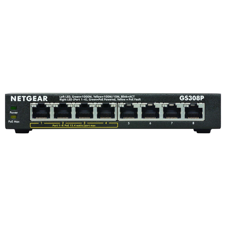 Netgear GS308P 8 Ports Ethernet Switch