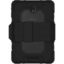 Griffin Survivor All-Terrain Case for Samsung Tablet - Black, Transparent