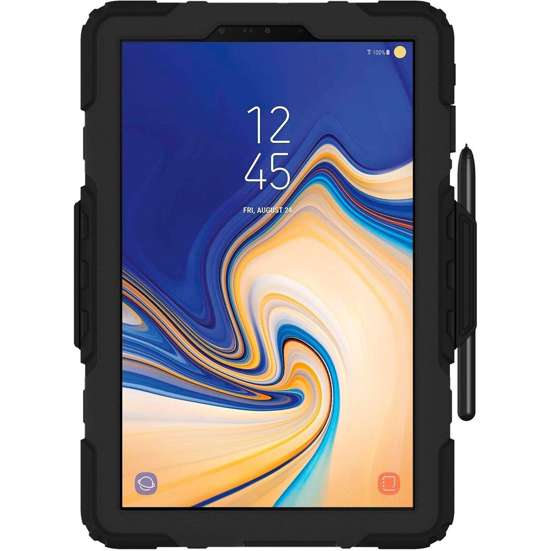 Griffin Survivor All-Terrain Case for Samsung Tablet - Black, Transparent