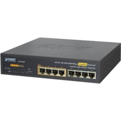 "Planet 10"" 8-Port 10/100/1000 Gigabit Ethernet Switch"