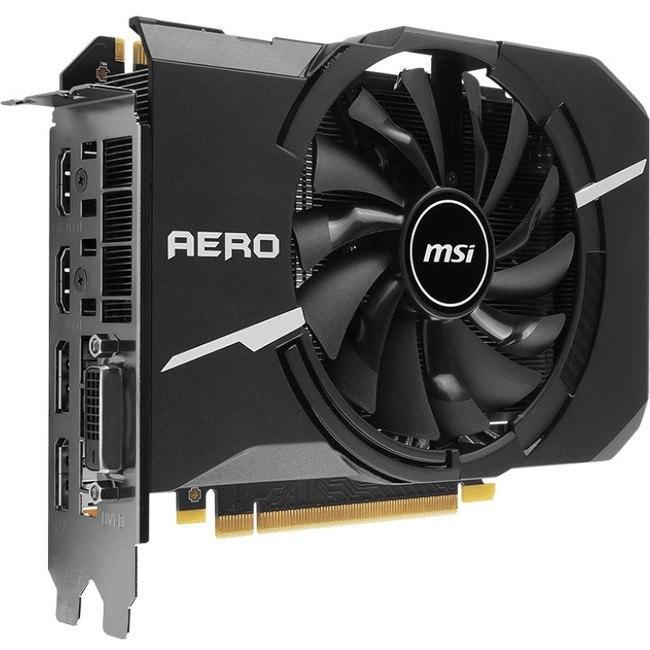 MSI GTX 1070 AERO ITX 8G OC GeForce GTX 1070 Graphic Card - 1.53 GHz Core - 1.72 GHz Boost Clock - 8 GB GDDR5