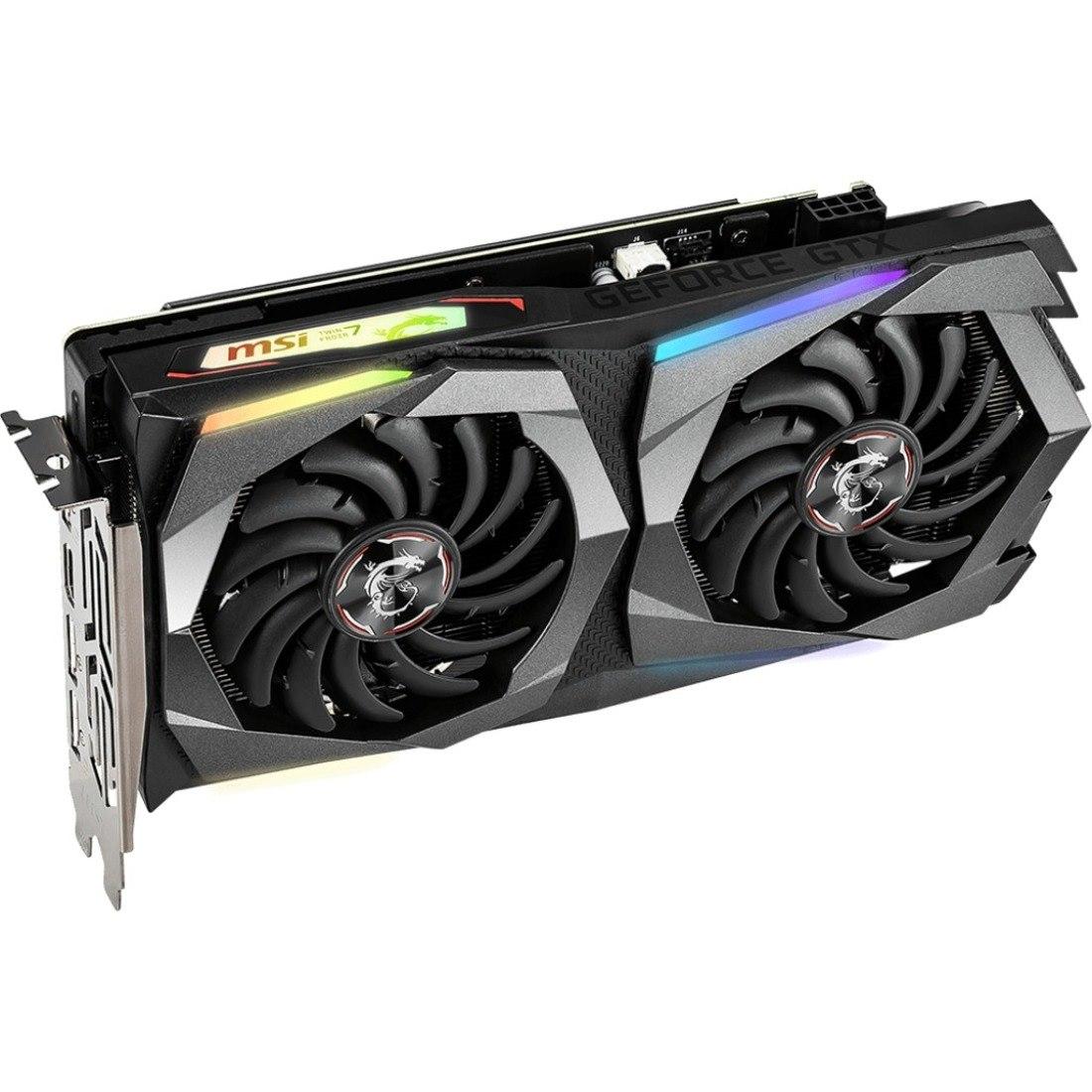 MSI GTX 1660 TI GAMING X 6G GeForce GTX 1660 Ti Graphic Card - 6 GB GDDR6