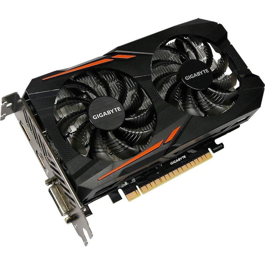 Gigabyte Ultra Durable 2 GV-N1050OC-2GD GeForce GTX 1050 Graphic Card - 2 GB GDDR5