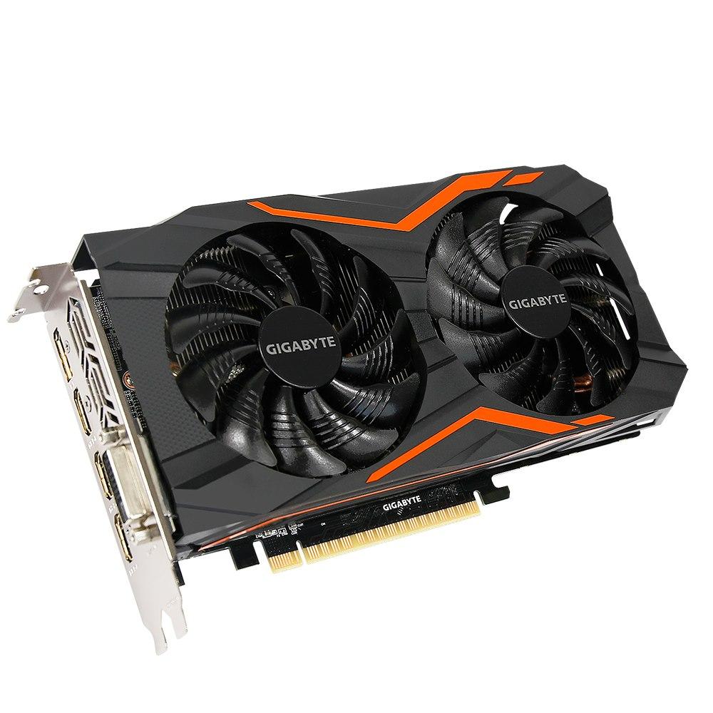 Gigabyte Ultra Durable VGA GV-N105TG1 GAMING-4GD GeForce GTX 1050 Ti Graphic Card - 4 GB GDDR5