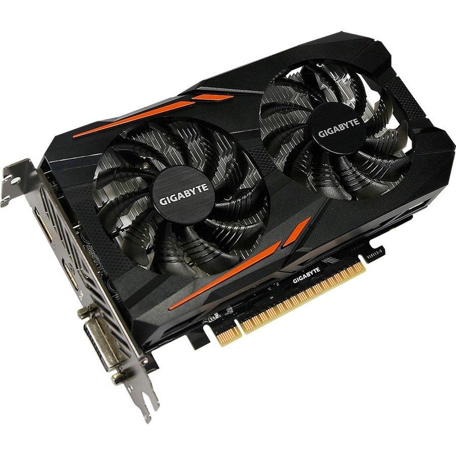 Gigabyte Ultra Durable 2 GV-N105TOC-4GD GeForce GTX 1050 Ti Graphic Card - 1.34 GHz Core - 1.46 GHz Boost Clock - 4 GB GDDR5
