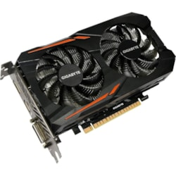 Gigabyte Ultra Durable 2 GV-N105TOC-4GD GeForce GTX 1050 Ti Graphic Card - 1.34 GHz Core - 1.46 GHz Boost Clock - 4 GB GDDR5