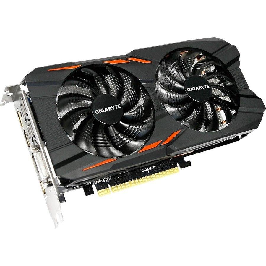 Gigabyte Ultra Durable VGA GV-N105TWF2OC-4GD GeForce GTX 1050 Ti Graphic Card - 4 GB GDDR5