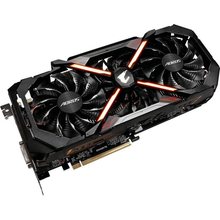 Aorus GV-N108TAORUS-11GD GeForce GTX 1080 Ti Graphic Card - 1.59 GHz Core - 1.71 GHz Boost Clock - 11 GB GDDR5X
