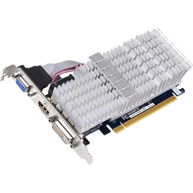 Gigabyte GV-N730SL-2GL GeForce GT 730 Graphic Card - 2 GB DDR3 SDRAM - Low-profile