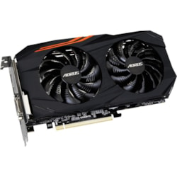 Aorus GV-RX580AORUS-8GD Radeon RX 580 Graphic Card - 1.37 GHz Core - 1.38 GHz Boost Clock - 8 GB GDDR5 - Dual Slot Space Required