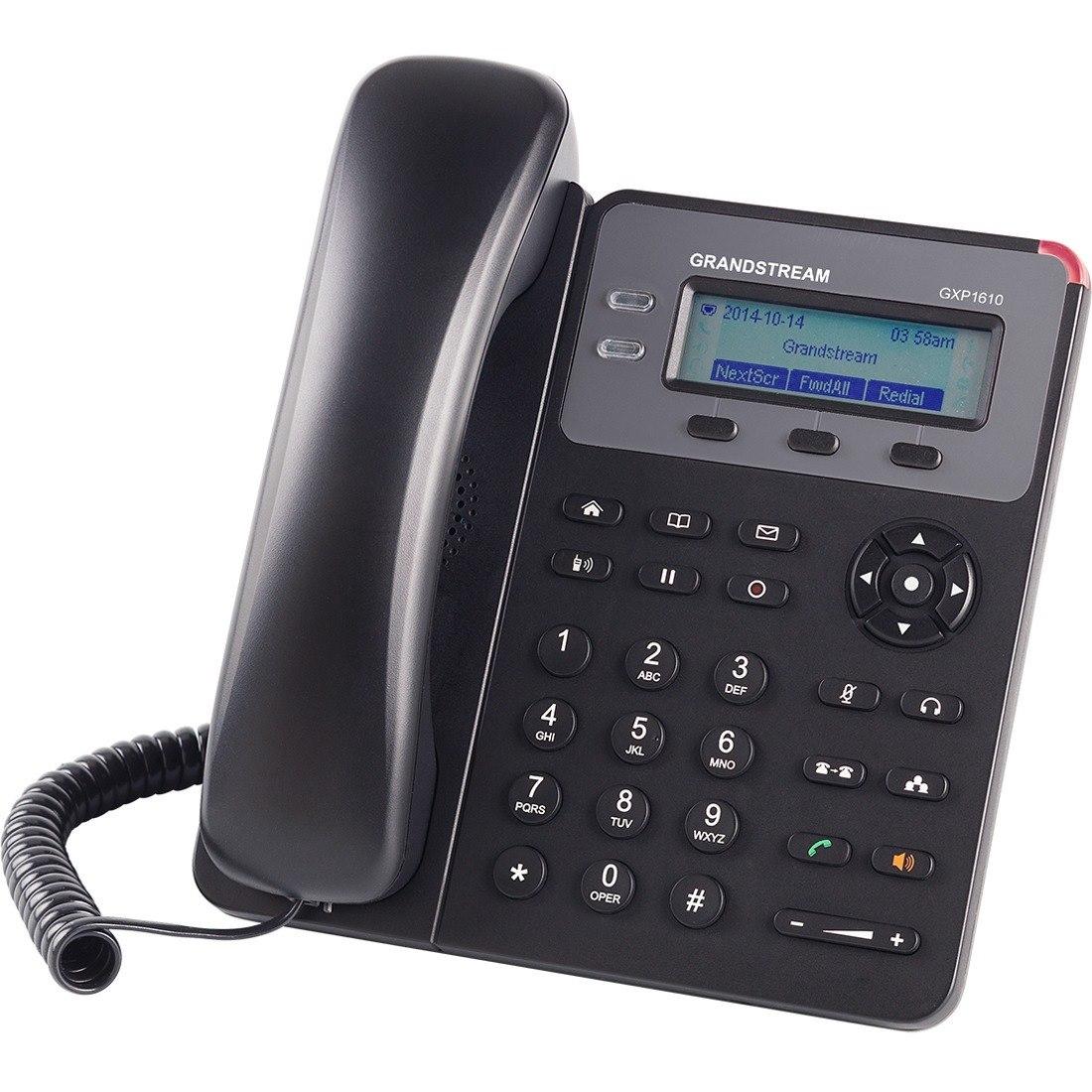 Grandstream GXP1610 IP Phone - Wall Mountable