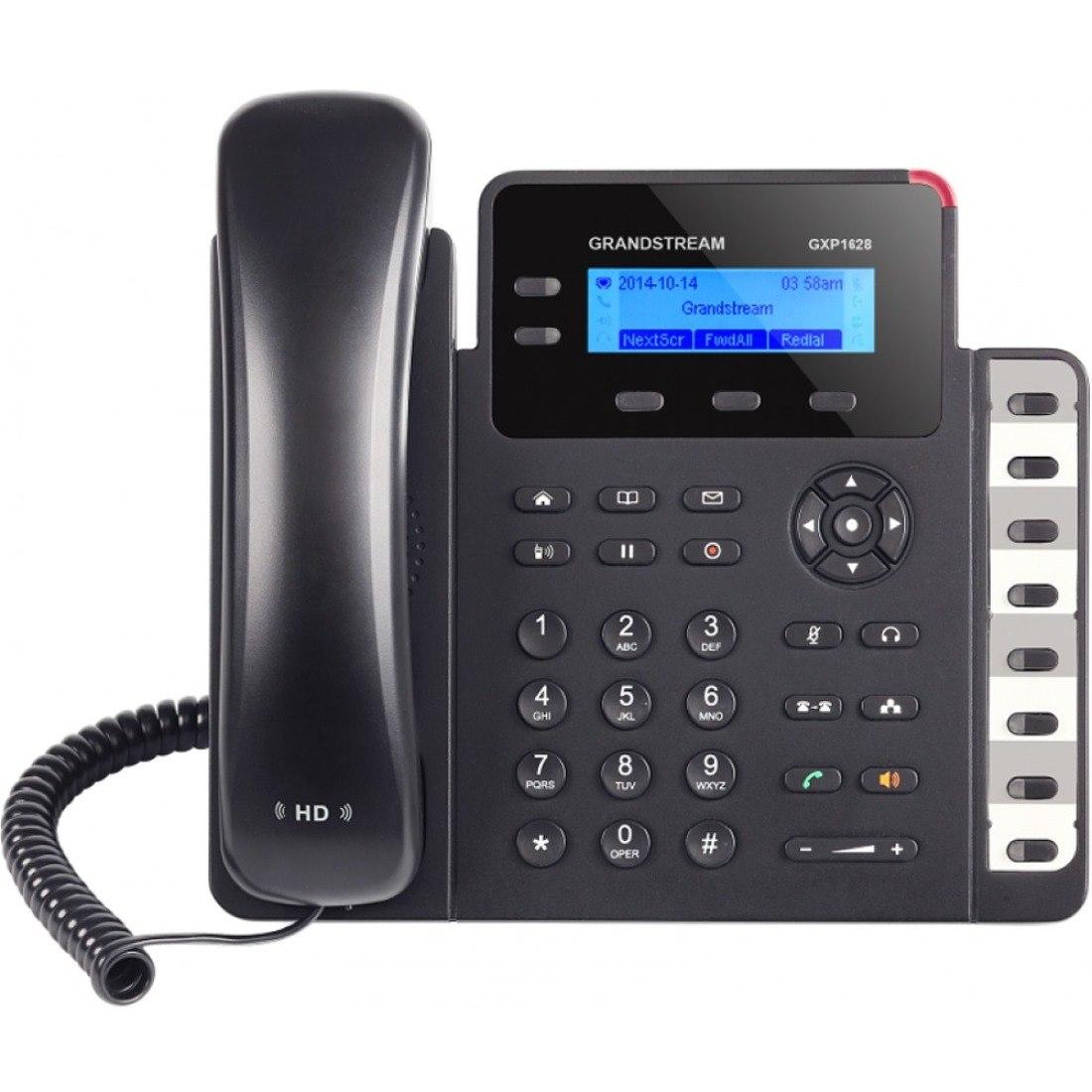 Grandstream GXP1628 IP Phone - Wall Mountable