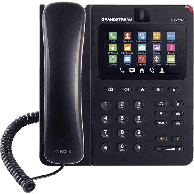Grandstream GXV3240 IP Phone - Wall Mountable
