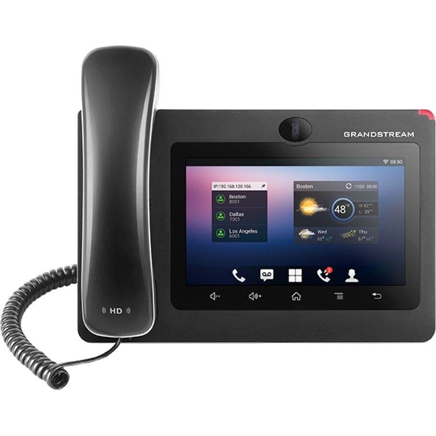Grandstream GXV3275 IP Phone - Wired/Wireless - Wi-Fi, Bluetooth - Desktop, Wall Mountable