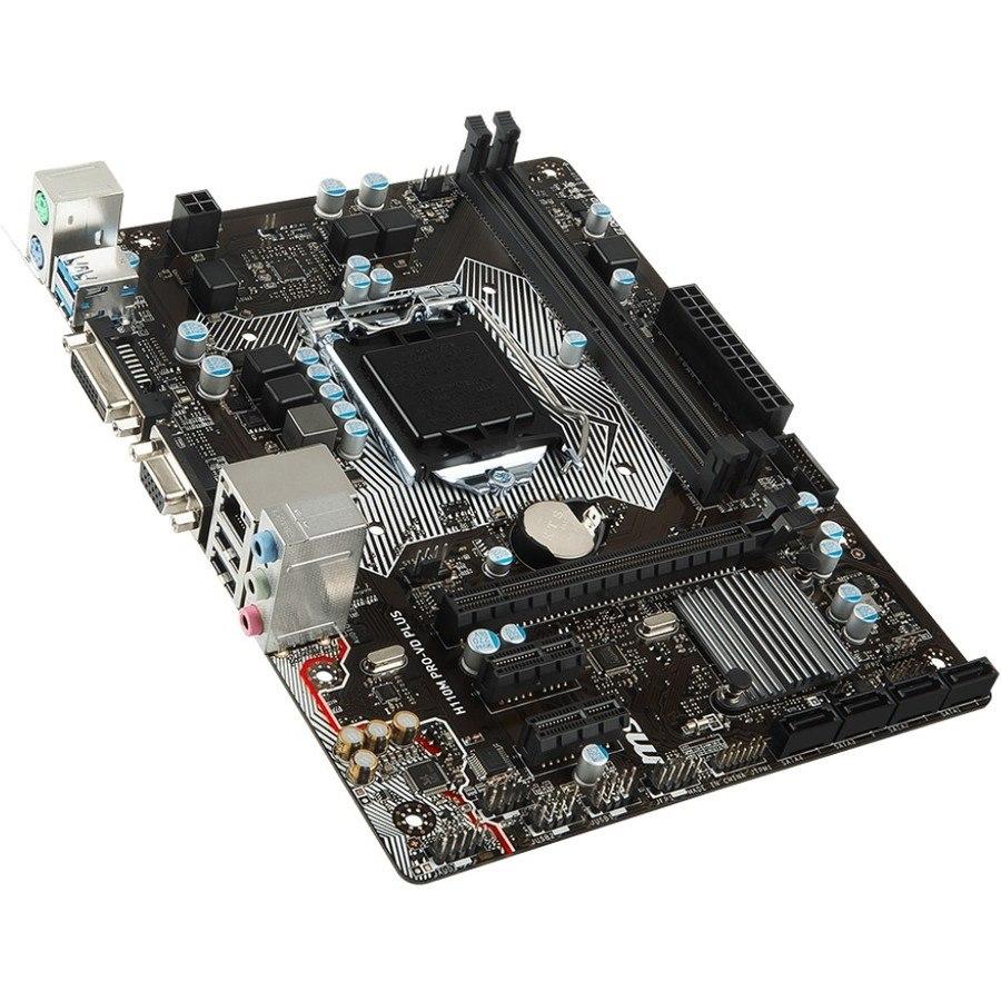 MSI H110M PRO-VD PLUS Desktop Motherboard - Intel Chipset - Socket H4 LGA-1151