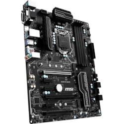 MSI H270 PC MATE Desktop Motherboard - Intel Chipset - Socket H4 LGA-1151