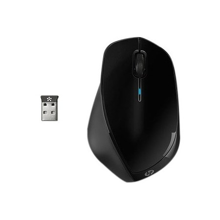 HP X4500 Mouse - Laser - Wireless - Black