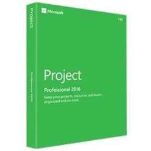 Microsoft Project 2016 Professional - Box Pack - 1 PC