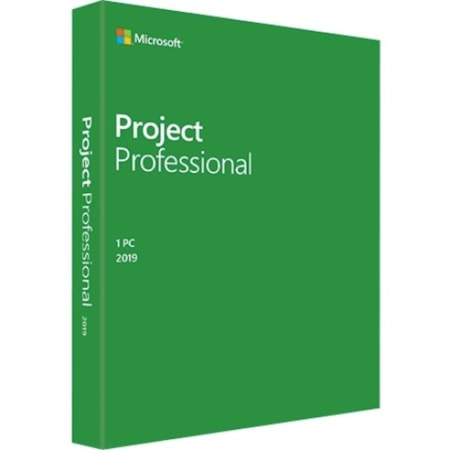 Microsoft Project 2019 Professional for Windows 10 - Box Pack - 1 PC - Medialess