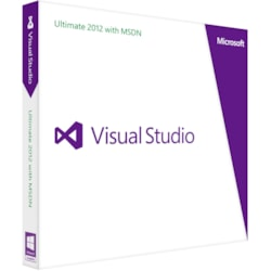 Microsoft Visual Studio 2012 Ultimate With MSDN - Complete Product - 1 User