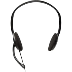 V7 HA201 Wired 30 mm Stereo Headset - Over-the-head - Semi-open - Black