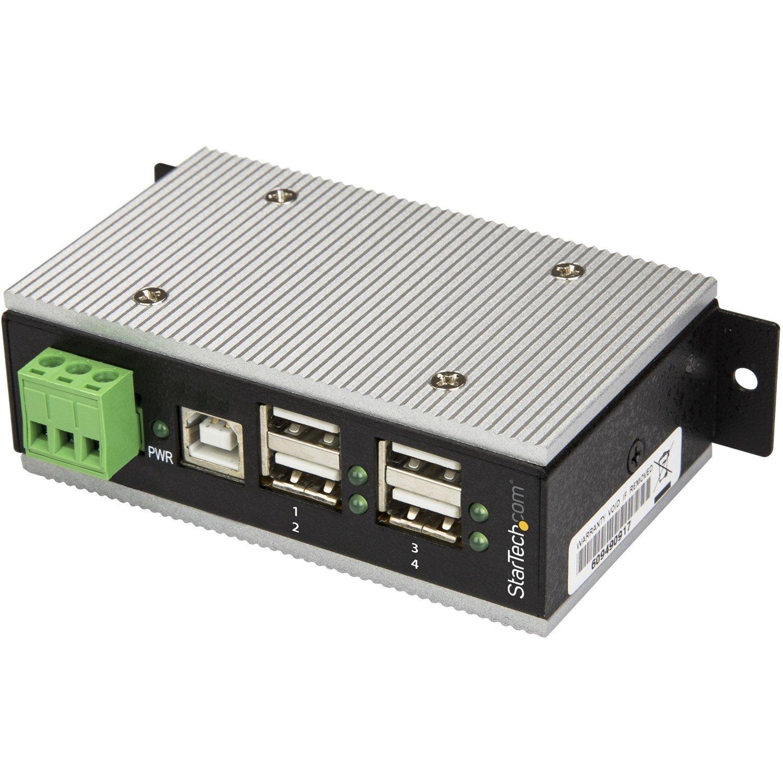 StarTech.com USB Hub - USB Type B - External - TAA Compliant