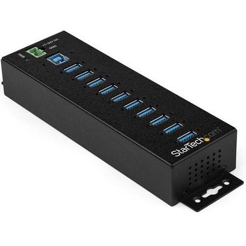 StarTech.com USB Hub - USB 3.0 Type B - External - Black - TAA Compliant