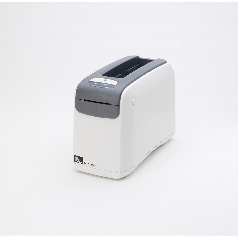 Zebra HC100 Direct Thermal Printer - Monochrome - Desktop - Wristband Print