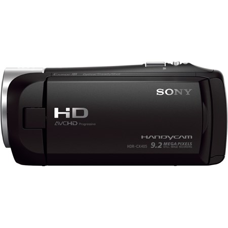 "Sony Handycam HDR-CX405 Digital Camcorder - 6.9 cm (2.7"") LCD - Exmor R CMOS - Full HD - Black"