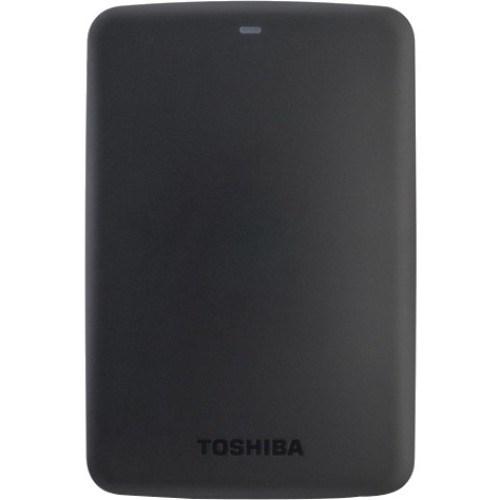 "Toshiba Canvio Basics 1 TB Hard Drive - 2.5"" Drive - External - Portable"